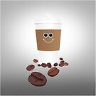 Happy Coffee by Adam Santana