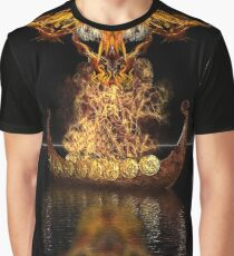 Viking Funeral revised Graphic T-Shirt