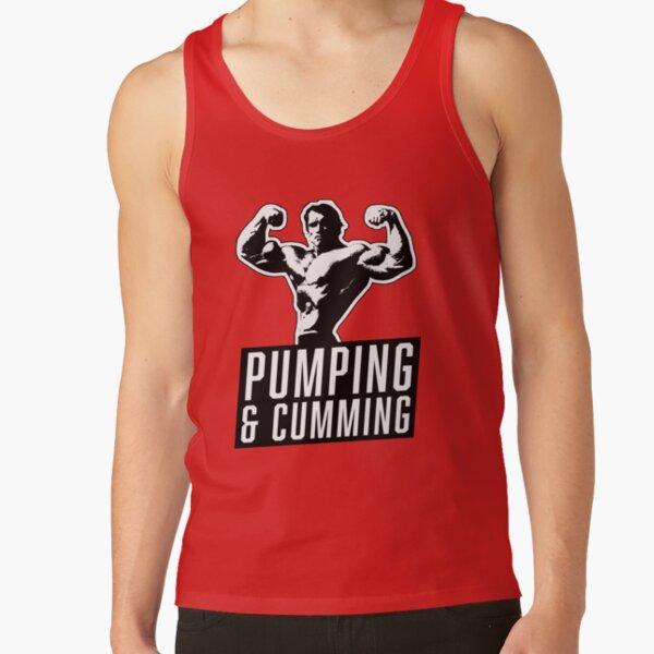 Original Arnold Schwarzenegger - Pumping & Cumming Tank Top