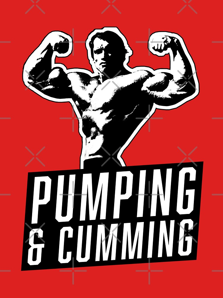 Original Arnold Schwarzenegger - Pumping & Cumming by yellowbubble