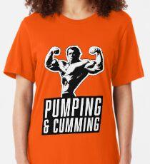 THE ORIGINAL Arnold Schwarzenegger - Pumping & Cumming Slim Fit T-Shirt