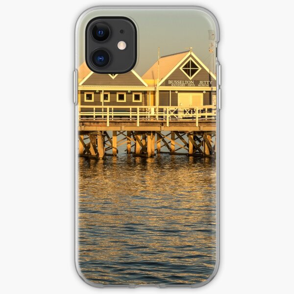Sunset at the Jetty iPhone Soft Case