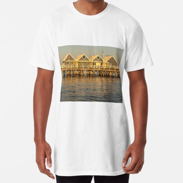 Sunset at the Jetty Long T-Shirt
