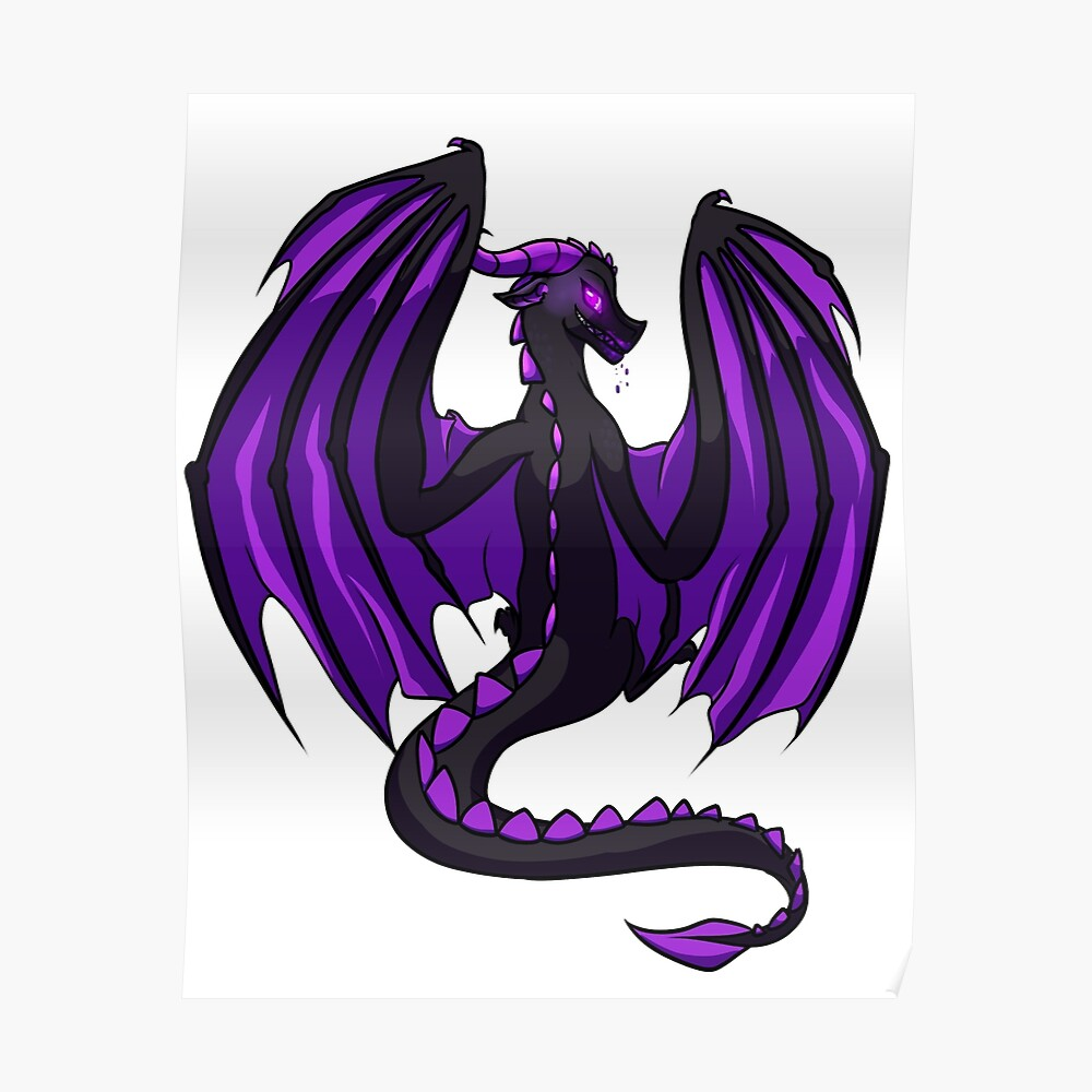 The Ender Dragon Safe Version Sticker By Lottedraws Redbubble
