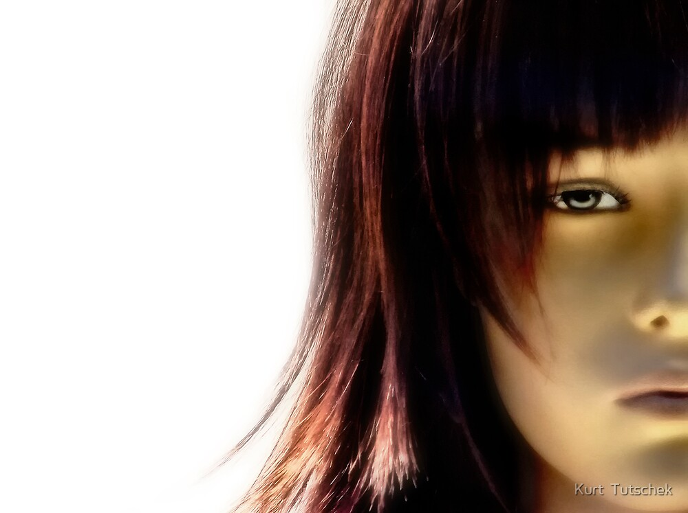 Half a face by Kurt  Tutschek