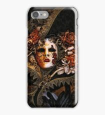 Venice Carnival masquerade, Baroque masks iPhone Case/Skin