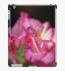 Beautiful Pink Gladiolus Flower Petals iPad Case/Skin