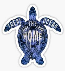 OCEAN OMEGA (VARIANT 3) Sticker