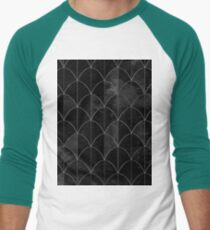 Mermaid scales. Black and white watercolor. T-Shirt