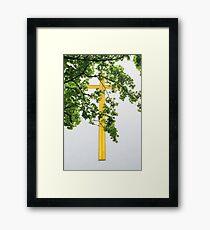 Golden Rule Framed Print
