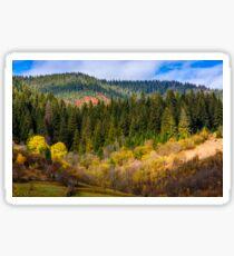 mountain rural area in autumn Sticker