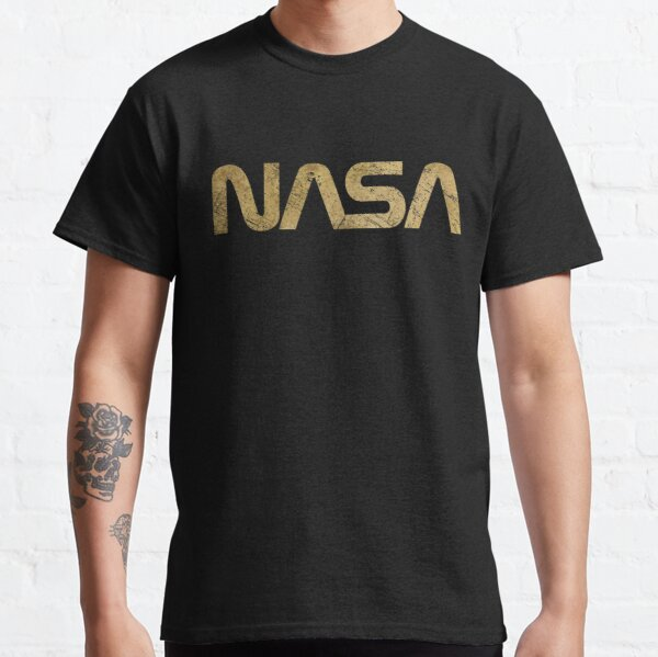 NASA Vintage Emblem 1975-1992 - Gold Edition Classic T-Shirt