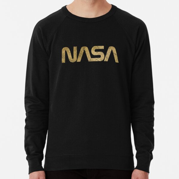 NASA Vintage Emblem 1975-1992 - Gold Edition Lightweight Sweatshirt
