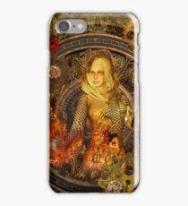 Wonderful steampunk lady  iPhone Case/Skin