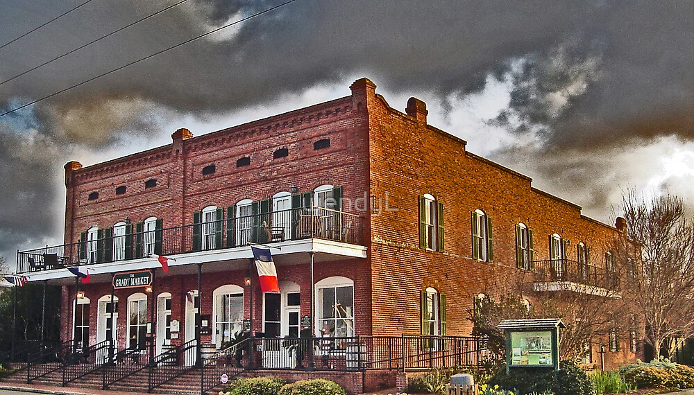 Old brick building by wendyL