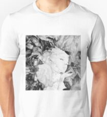 I guess I'm dreaming again, 2017, 50-50cm, graphite crayon on paper T-Shirt