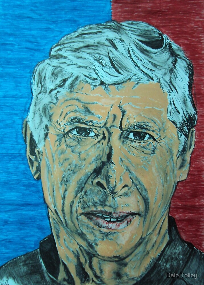 Arsene   wenger by Dale Tolley