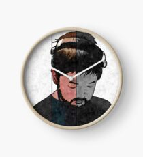 Nujabes Plain (Split) Clock