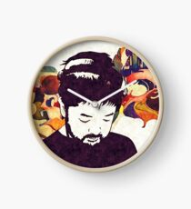Nujabes Plain (Color) Clock