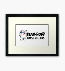 Stay-Puft Marshmallows Framed Print