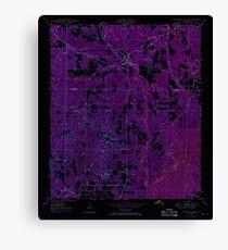 USGS TOPO Map Florida FL Ponce De Leon 348161 1948 24000 Inverted Canvas Print