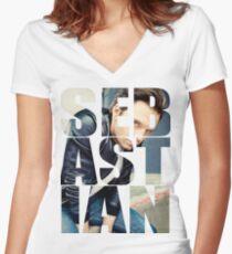 Sebastian Women's Fitted V-Neck T-Shirt