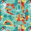 Hawaiian resort by camcreativedk
