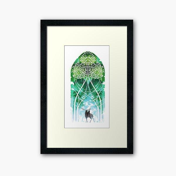 DA:I-The Emerald Graves Framed Art Print