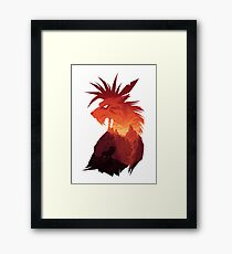 The Canyon's Guardian Framed Print