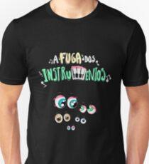 A Fuga dos Instrumentos Unisex T-Shirt