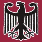 Bundesadler t-shirts by valizi