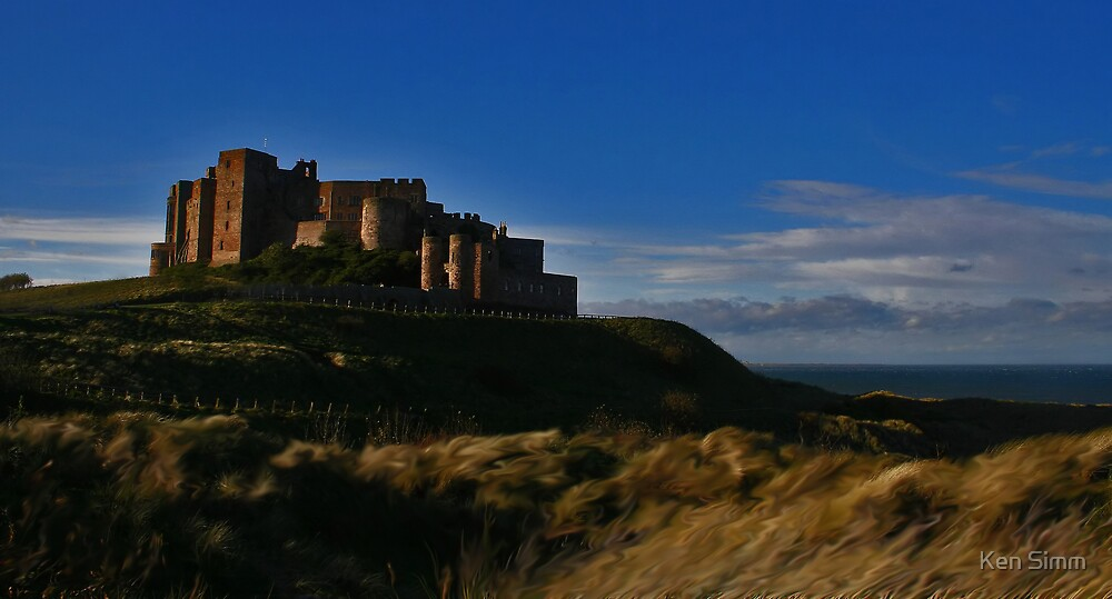 Bamburgh Castle 2 by Kenart