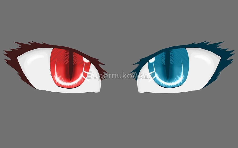 Eyes by SupernukoAkari