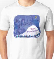 Hello from Seattle! by Wendy Wahman Unisex T-Shirt