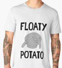 Floaty Potato Manatee - Funny Manatees Sea Cow Gift Men's Premium T-Shirt
