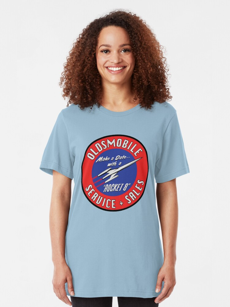 Oldsmobile VINTAGE LOGO Heather T-Shirt All Sizes