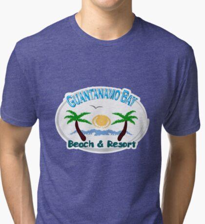 Guantanamo bay t-shirts Tri-blend T-Shirt