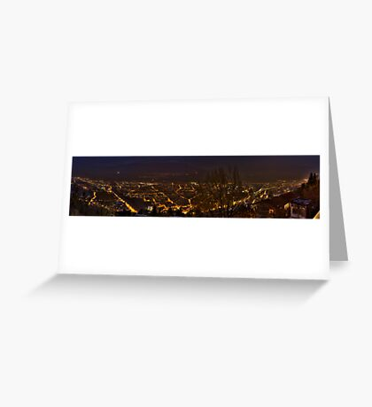 A City's Lifelines Greeting Card
