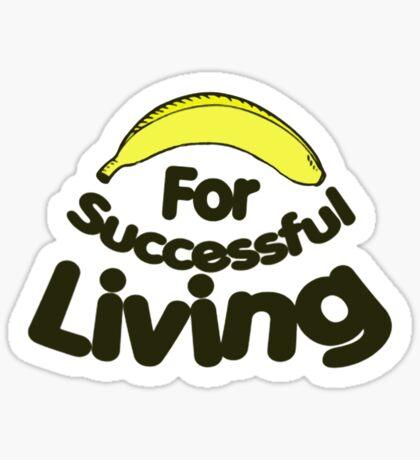 Banana T-shirts Sticker