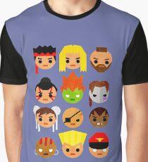 Street Fighter 2 Mini Graphic T-Shirt