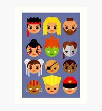 Street Fighter 2 Mini Art Print