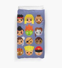Street Fighter 2 Mini Duvet Cover