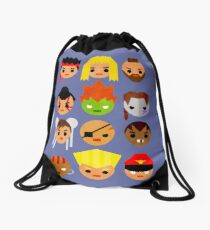 Street Fighter 2 Mini Drawstring Bag