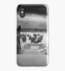 Omaha Beach Landing -- D-Day Normandy Invasion iPhone Case/Skin