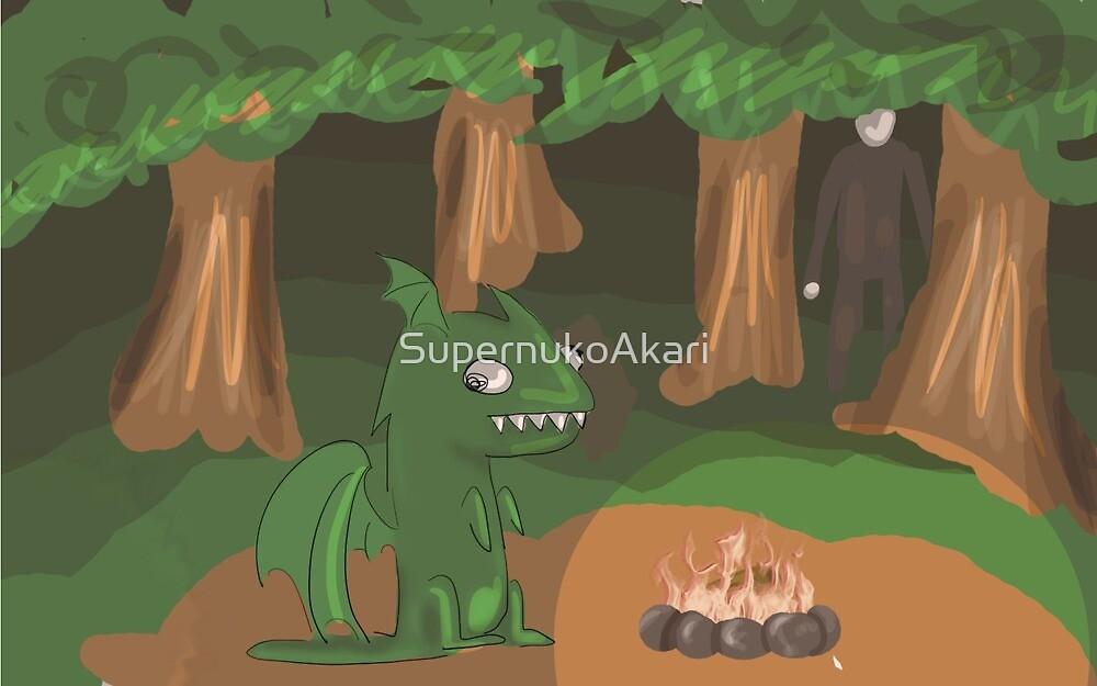 Derpy Dragon by SupernukoAkari