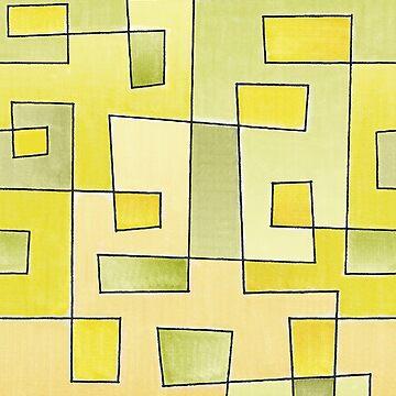 "Protoglifo Pattern N2 ""Fresh Lemonade"" by pepetto"