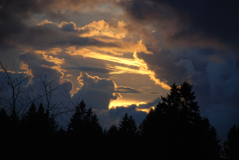 And the sky opens by Deby Moehnke