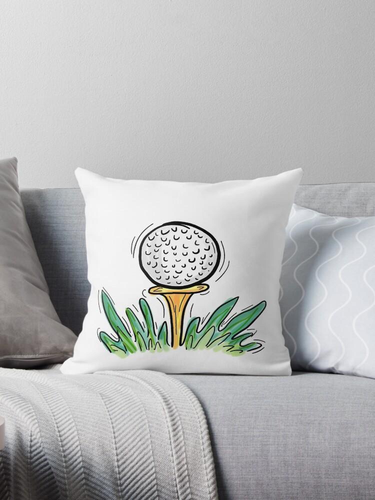 Cartoon style golf tee design by artisticattitud