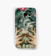 A Green Heart Samsung Galaxy Case/Skin