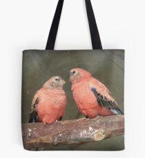 Our Adoration Speaks Volumes - Bourke Parrots - NZ Tote Bag